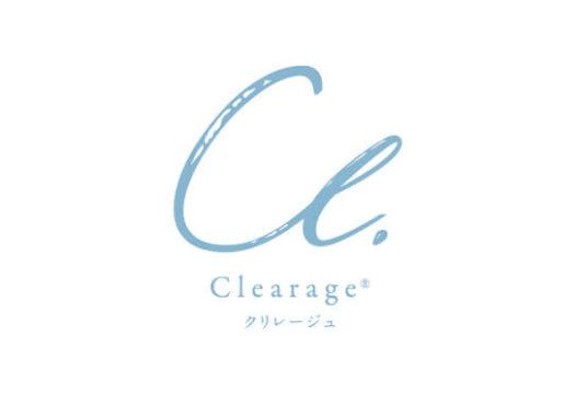 株式会社T-Farm様 clearage(クリレージュ)ロゴ