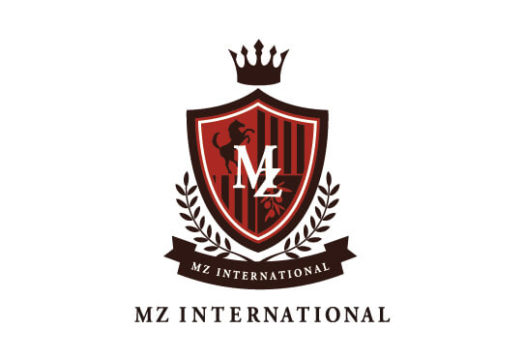 株式会社 MZ international様 ロゴ
