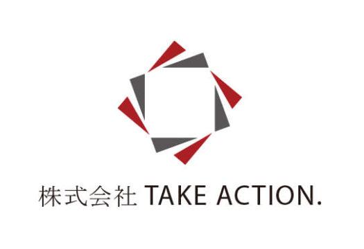 株式会社TAKE ACTION.様 ロゴ