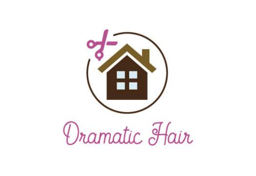 Dramatic hair様 ロゴ