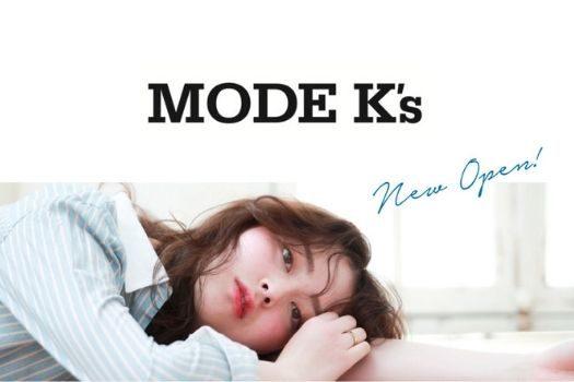 MODE K's様 新店舗オープンブログ記事